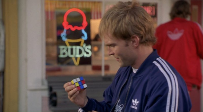 Bud's Ice Cream of San Francisco and Adidas Tracksuits in Dude, Where's My Car? (2000) - Movie Product Placement