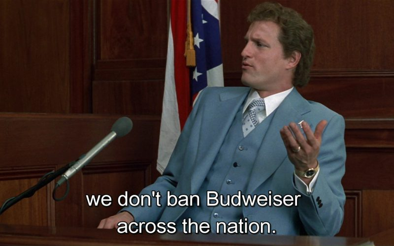 Budweiser Beer – The People vs. Larry Flynt (2)