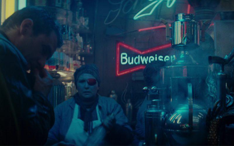 Budweiser Neon Signs in Blade Runner