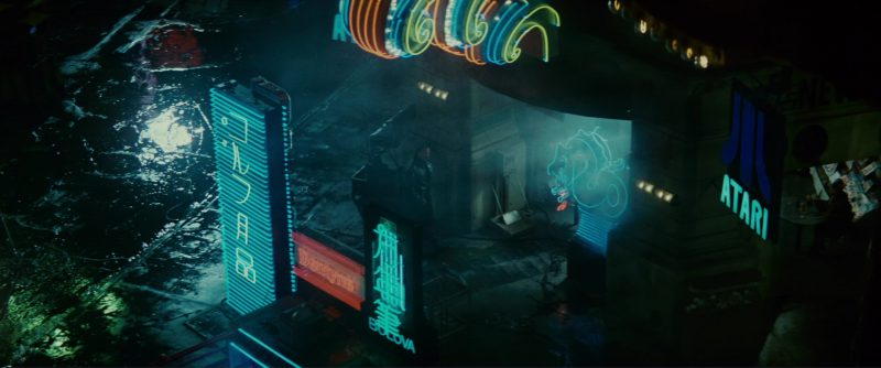 Bulova and Atari in Blade Runner (1982) - Movie Product Placement