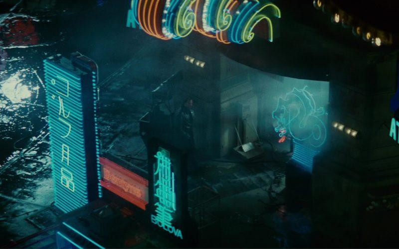 Bulova and Atari in Blade Runner