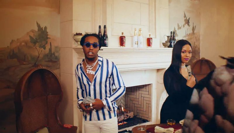 Bumbu Rum, Belaire Rosé, Luc Belaire Luxe - Gucci Mane - I Get The Bag (2017) Official Music Video Product Placement