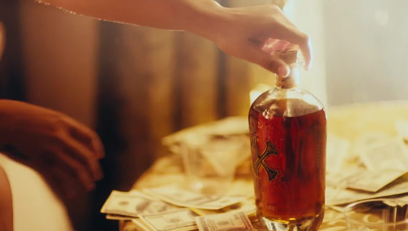 Bumbu Rum in I Get The Bag by Gucci Mane feat. Migos (2017) Official Music Video Product Placement