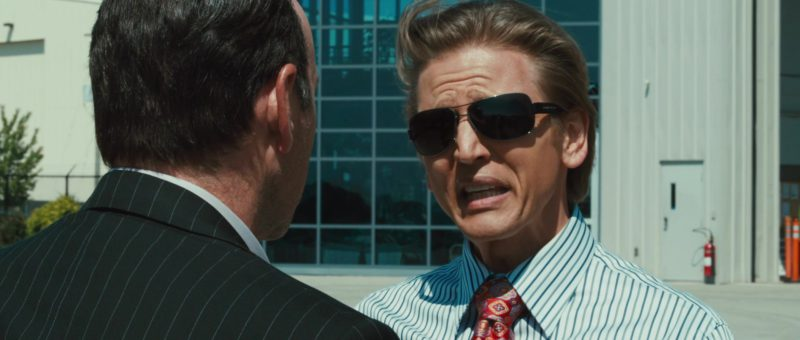 Bvlgari sunglasses worn by Barry Pepper in CASINO JACK (2010) Movie Product Placement