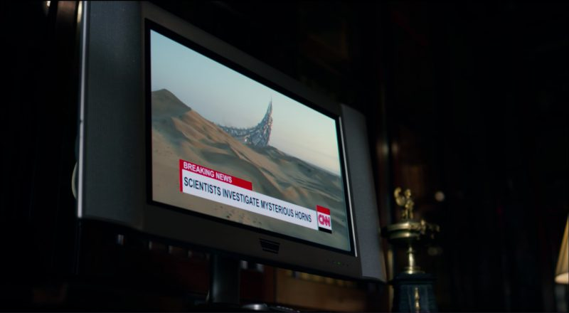 CNN TV Channel in Transformers 5: The Last Knight (2017) Movie Product Placement
