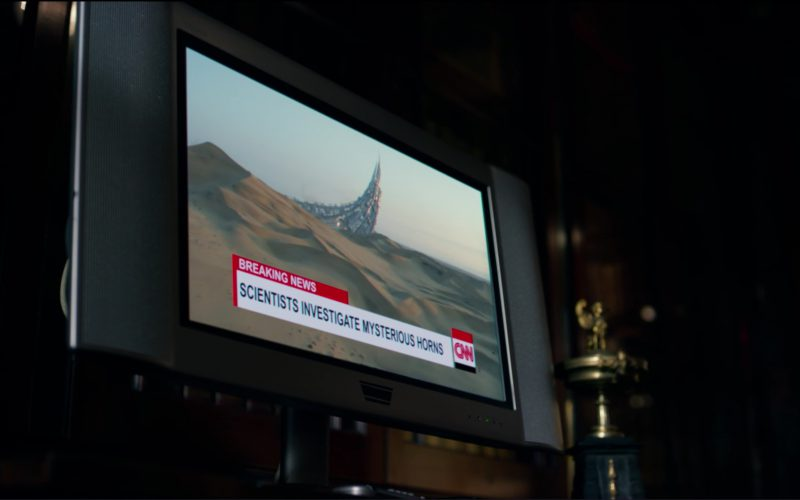 CNN TV Channel in Transformers 5 The Last Knight (1)