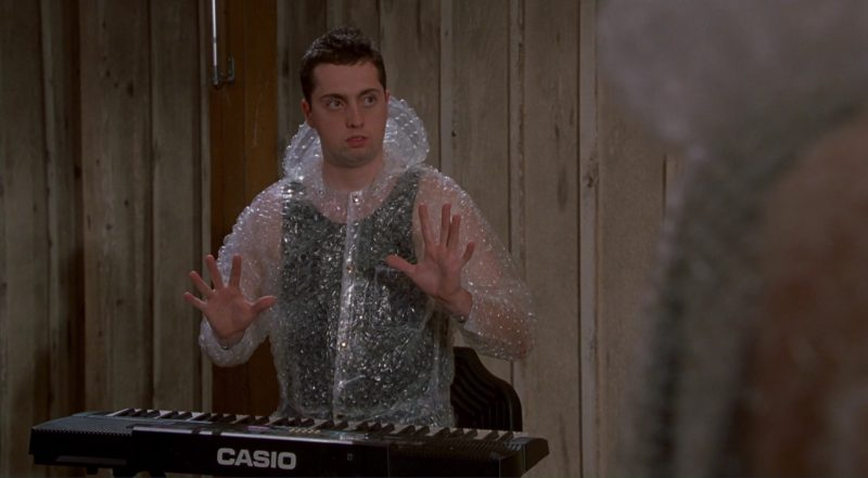 Casio Keyboard (Digital Piano) in Dude, Where's My Car? (2000) - Movie Product Placement