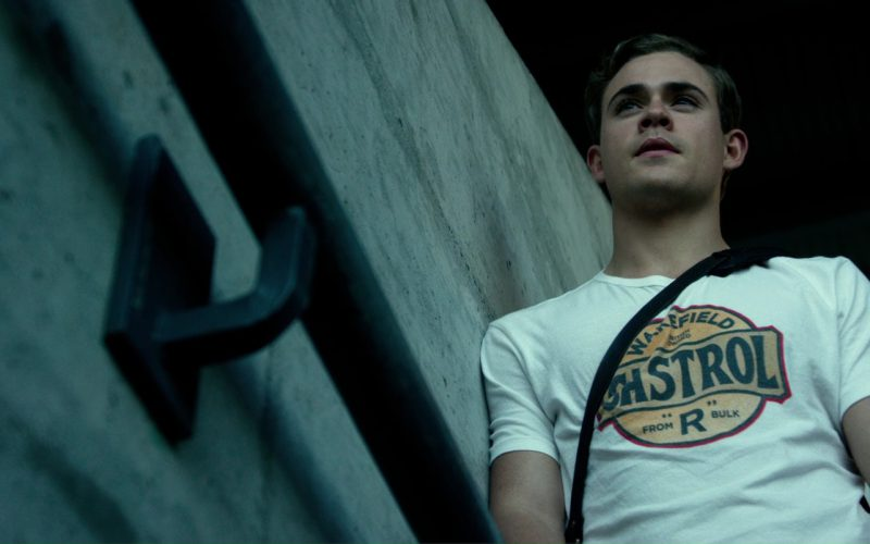 Castrol T-Shirt Worn by Dacre Montgomery in Power Rangers (1)