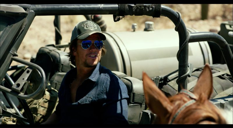 Caterpillar Cap Worn by Mark Wahlberg in Transformers 5: The Last Knight (2017) Movie Product Placement
