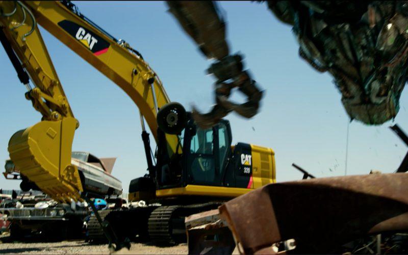 Caterpillar (Cat) Machine in Transformers 5 The Last Knight (1)