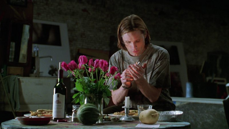 Centine Wine in A Perfect Murder (1998) Movie Product Placement