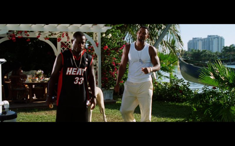 Champion T-Shirt worn by Martin Lawrence in Bad Boys 2 (2003) - Movie Product Placement