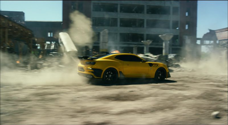 Chevrolet Camaro Car/Autobot in Transformers 5: The Last Knight (2017) Movie Product Placement