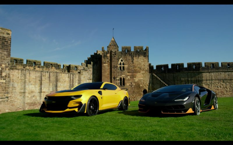 Chevrolet Camaro and Lamborghini Centenario in Transformers 5 The Last Knight (1)
