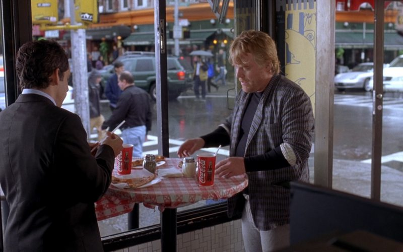 Coca-Cola Cups - Along Came Polly (2004) - Movie Product Placement