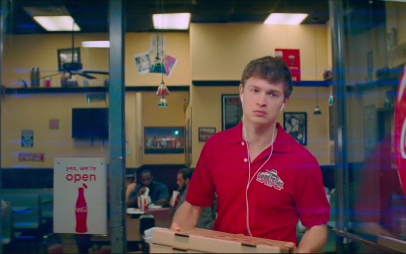 Coca-Cola Signs and Goodfellas Pizza & Wings in Baby Driver (1)