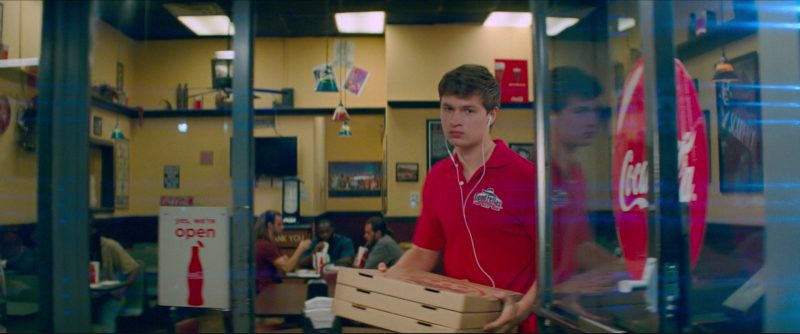 Coca-Cola Signs and Goodfellas Pizza & Wings in Baby Driver (2017) - Movie Product Placement