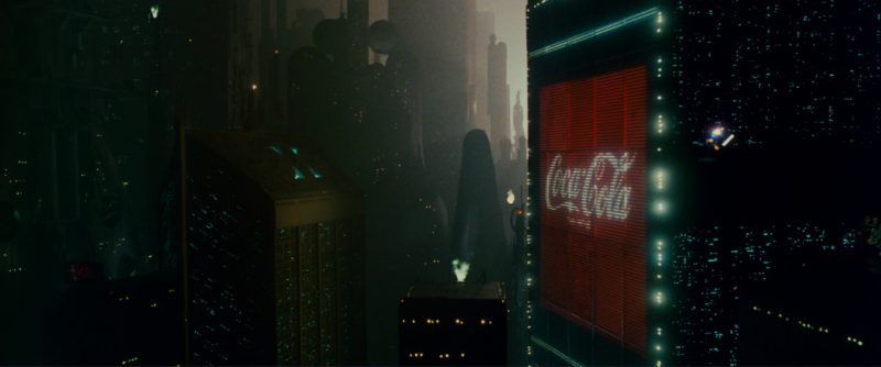 Coca-Cola in Blade Runner (1982) Movie Product Placement