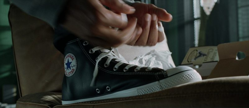 Converse Sneakers Worn by Will Smith in I, Robot (2004) Movie Product Placement