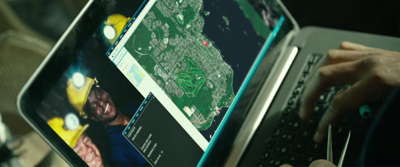 "Dell Laptop Used By Ronald ""RJ"" Cyler II in Power Rangers (2017) Movie Product Placement"