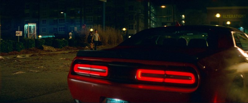 Dodge Challenger SRT Hellcat in Baby Driver (2017) Movie Product Placement