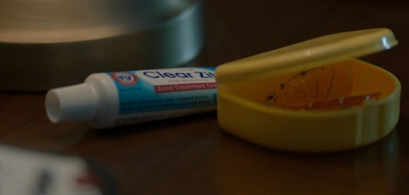 Dr. Sheffield's Clear Zit Acne Treatment Cream in Spider-Man: Homecoming (2017) - Movie Product Placement