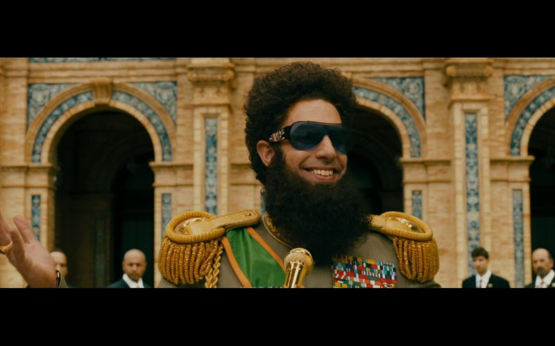 Ed Hardy Sunglasses – The Dictator (2012) Movie Product Placement