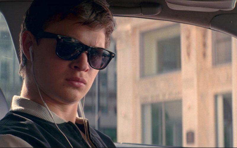 Eye Love Wayfarer Sunglasses Worn by Ansel Elgort in Baby Driver (1)