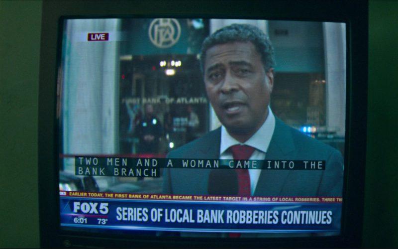 FOX 5 Atlanta TV Channel in Baby Driver (1)