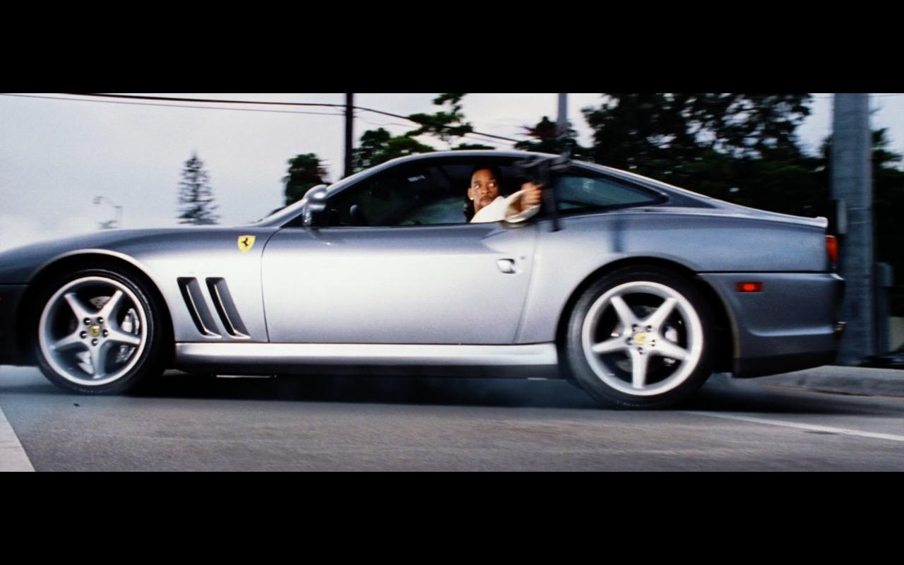 Ferrari 550 575m Maranello Cars Bad Boys 2 2003 Movie