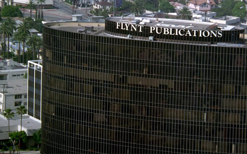 Flynt Publications Building in The People vs. Larry Flynt