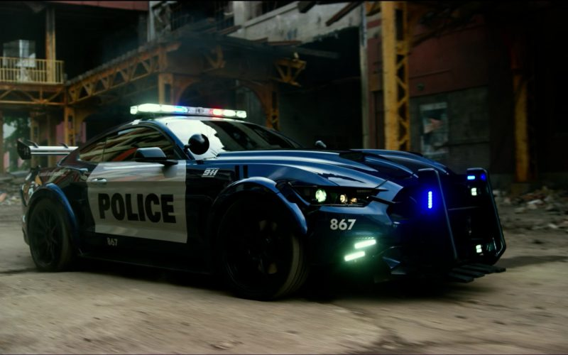 Ford Mustang Police CarAutobot in Transformers 5 The Last Knight (1)