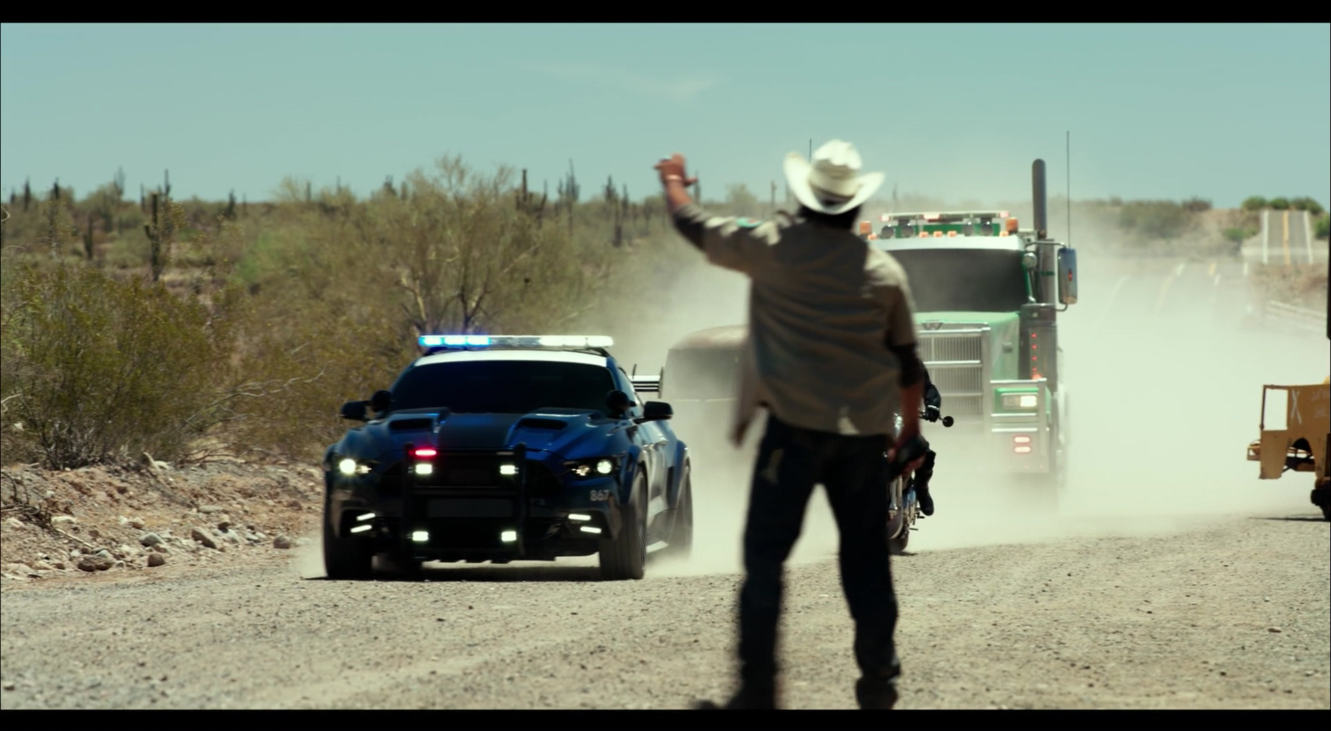 Ford Mustang Police Car/Autobot in Transformers 5: The ...