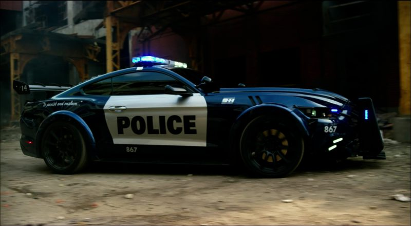 2017 Saleen Mustang >> Ford Mustang Police Car/Autobot in Transformers 5: The ...