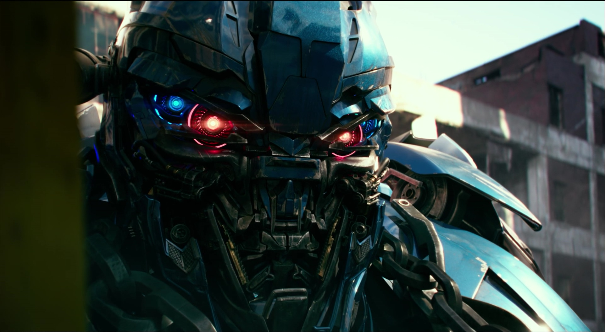 ford mustang police carautobot in transformers 5 the