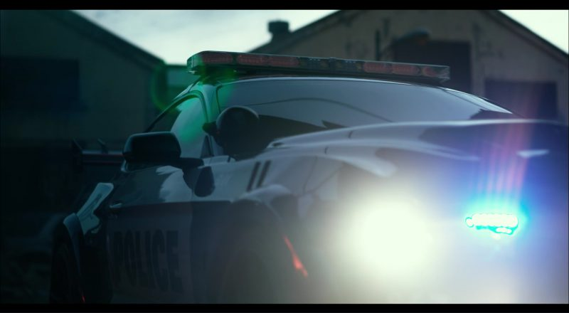 Ford Mustang Police Car/Autobot in Transformers 5: The Last Knight (2017) Movie Product Placement