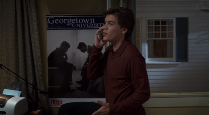 Georgetown University and LIFE Magazine Logo (Poster) – The Girl Next Door (2004) Movie Product Placement