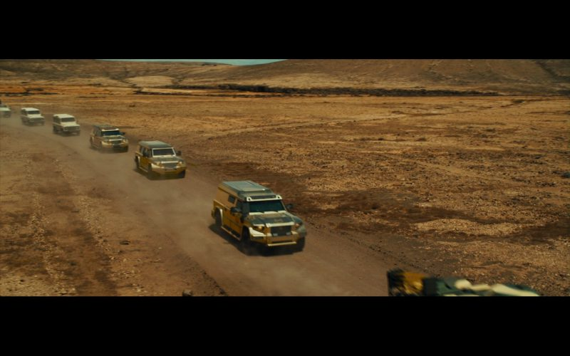 Gold DARTZ Prombron Cars - The Dictator (2012) - Movie Product Placement