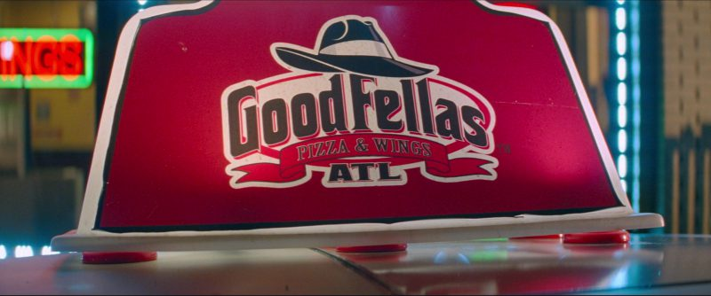 Goodfellas Pizza & Wings Restaurant in Baby Driver (2017) - Movie Product Placement