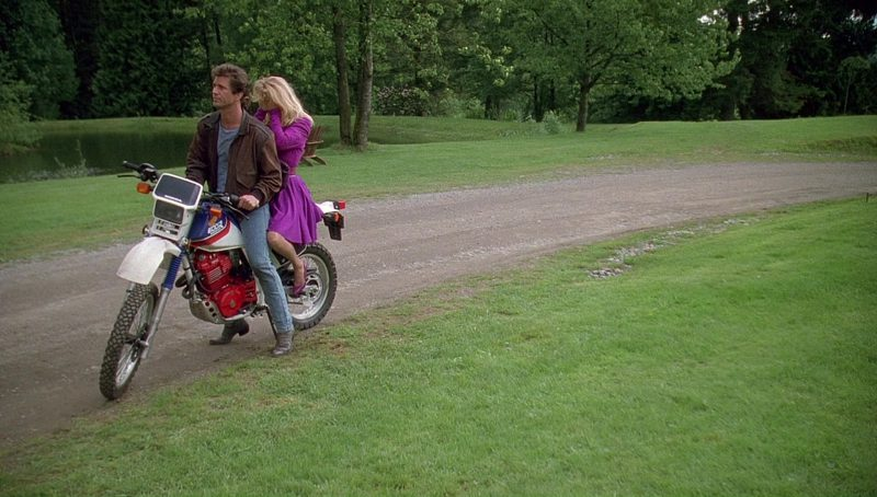 Honda Xl 600 R Motorcycle Driven By Mel Gibson In Bird On A Wire  1990  Movie