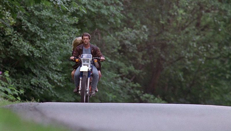 Honda Xl 600 R Motorcycle Driven By Mel Gibson In Bird On
