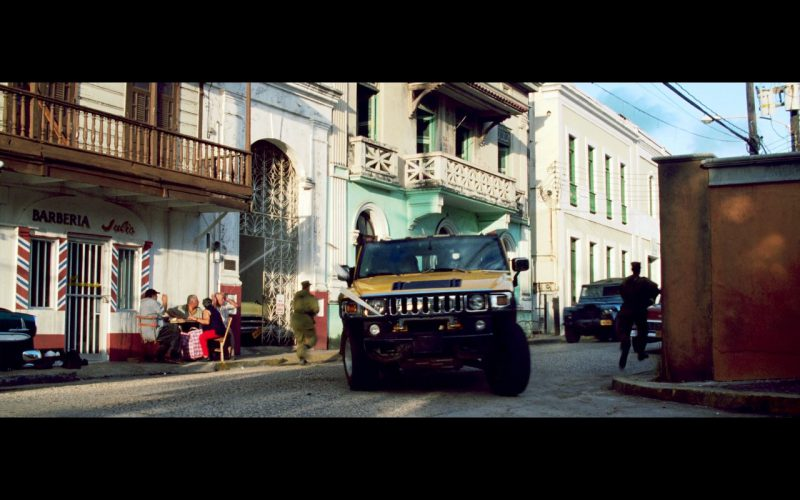 Yellow Hummer H2 Car  – Bad Boys 2 (2003) Movie
