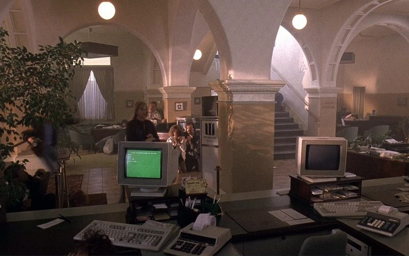 IBM Computers and Monitors in Bird on a Wire (4)