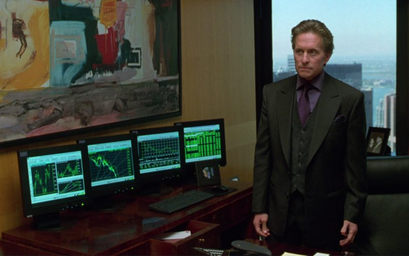 IBM Monitors Used by Michael Douglas in A Perfect Murder (3)