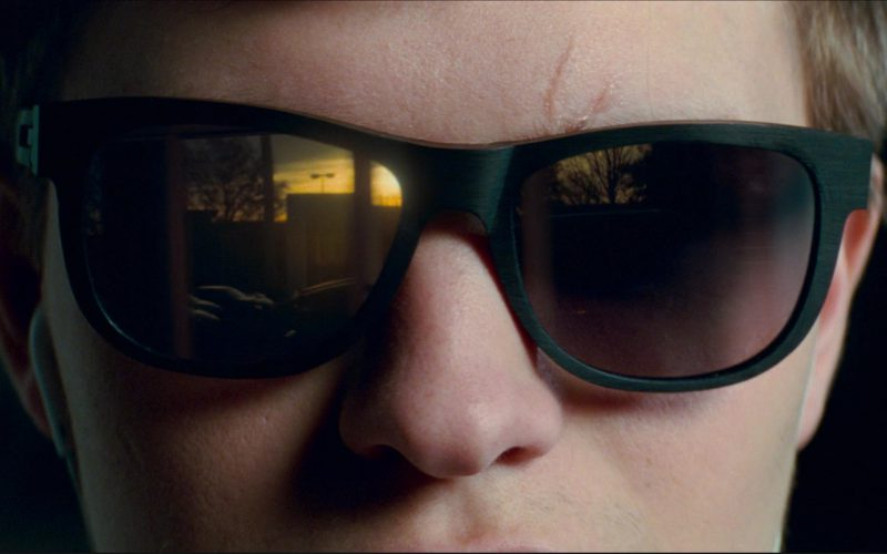 IC! BERLIN Fahrlehrer Klaus Sunglasses Worn by Ansel Elgort in Baby Driver (3)