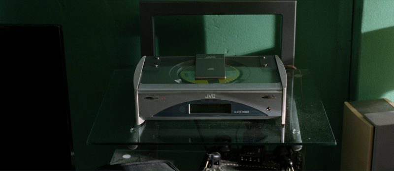 JVC CD Audio Player in I, Robot (2004) - Movie Product Placement