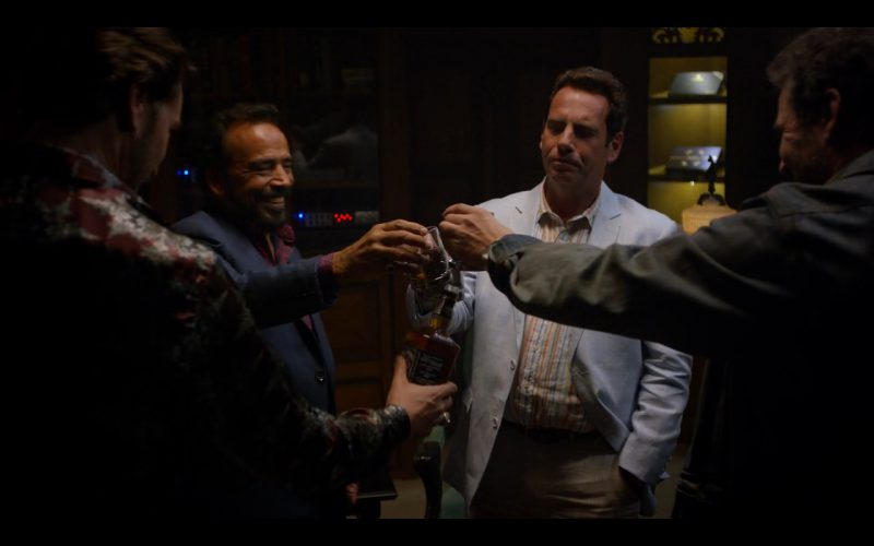 Jack Daniel's Whiskey - Narcos - TV Show Product Placement