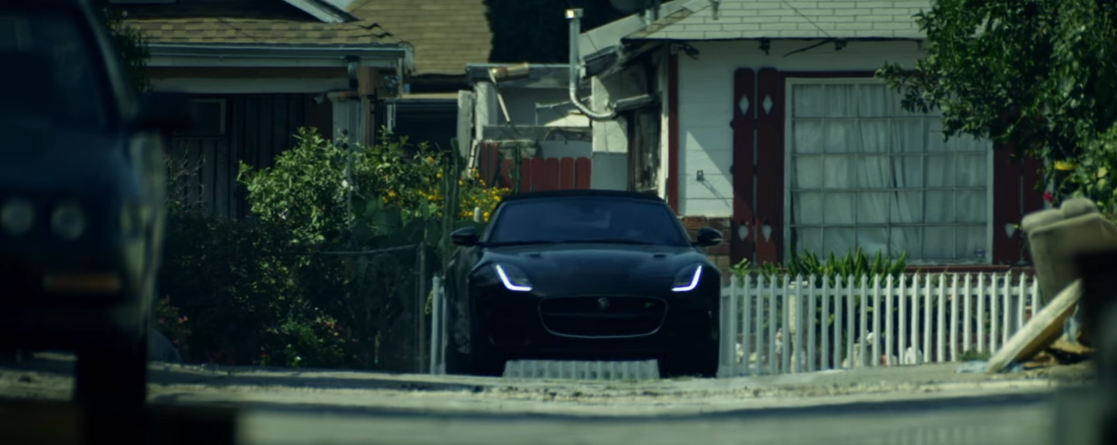 Jaguar F Type Convertible Car In Dusk Till Dawn By Zayn Ft