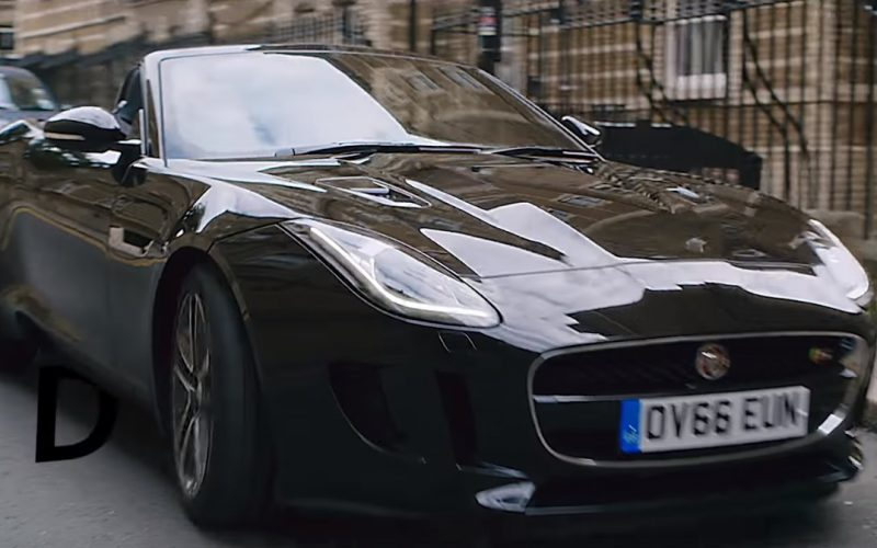 Jaguar F-TYPE Convertible in Get Low by Zedd and Liam Payne (3)