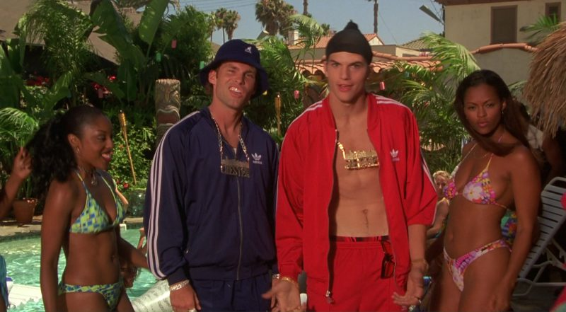 Kangol Bucket Hat and Adidas Tracksuits in Dude, Where's My Car? (2000) - Movie Product Placement